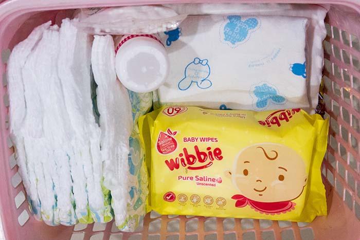 wibbie ผ้าเปียกสูตรน้ำเกลือ