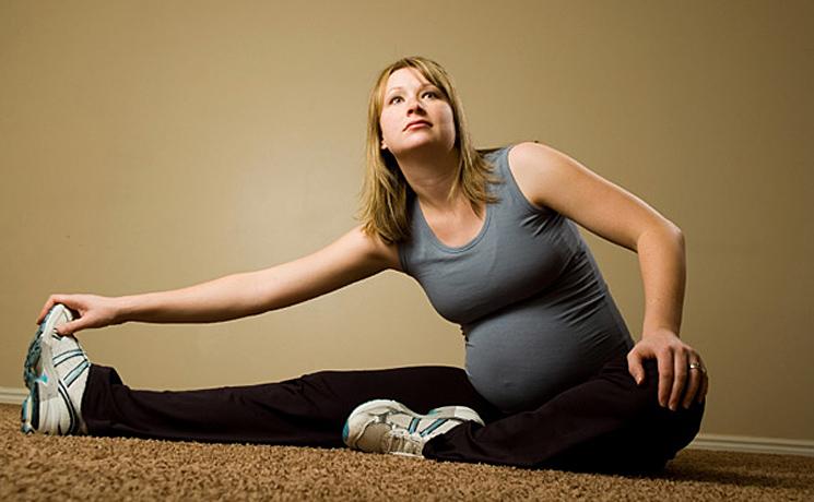 บริหารร่างกายคุณแม่ตั้งครรภ์เพื่อให้ คลอดง่าย