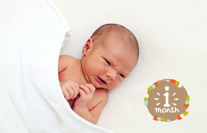พัฒนาการเด็กวัย 1 เดือน
