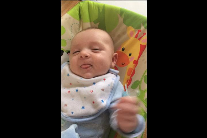 ทารก 7 สัปดาห์พูด