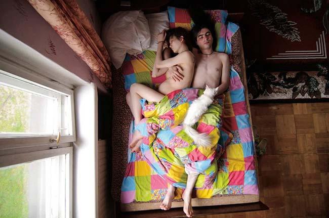 ท่านอนสามี-ภรรยาตั้งครรภ์14
