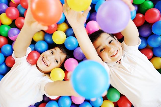 ของเล่น-ลูกบอลหลากสี