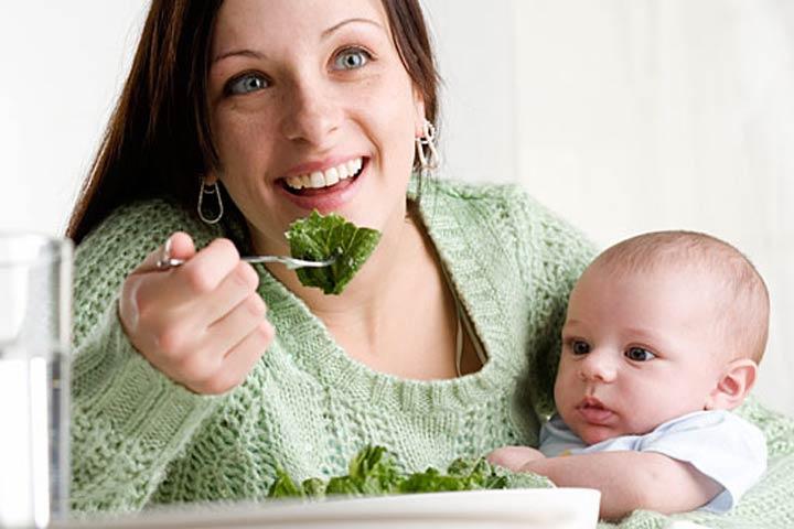 เมนูผักสำหรับแม่หลังคลอด