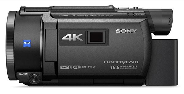 Sony 4K Handycam AXP55