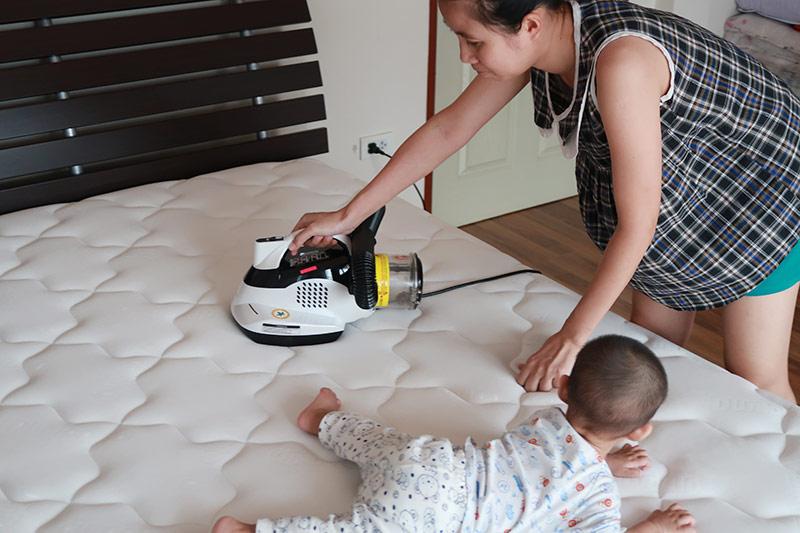 เครื่อง atocare ทำความสะอาดที่นอน
