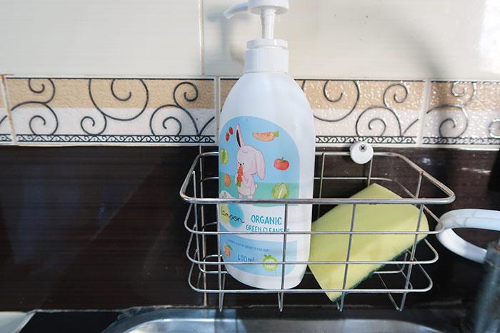 น้ำยาล้างผักผลไม้ออร์แกนิค