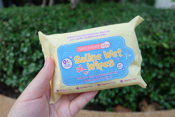 SRICHAND BABY - Saline Wet Wipes
